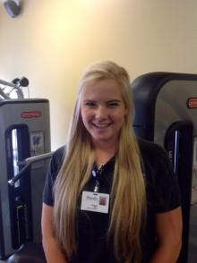 Exercise Specialist Megan Bush